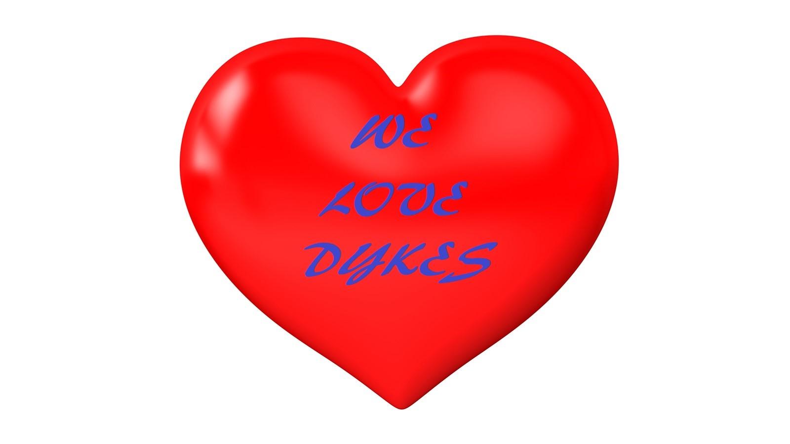 we love dykes