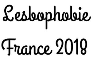 Lesbophobie France 2018 by Brillante