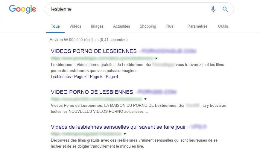 Lesbian google search