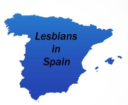 Lesbians in spain