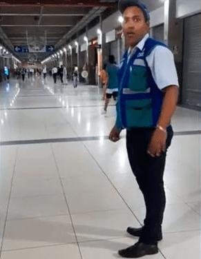 Peru Metro Guard